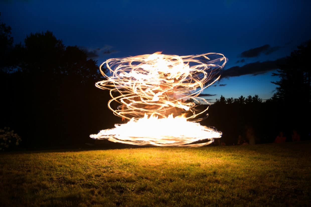 Stonetree Creative - Long exposure fire dancing