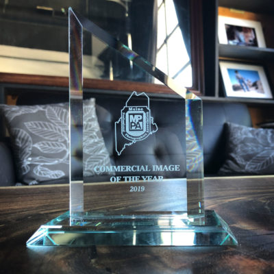Stonetree Creative - Commercial Image Of The Year award by the Maine Professional Photographers Association