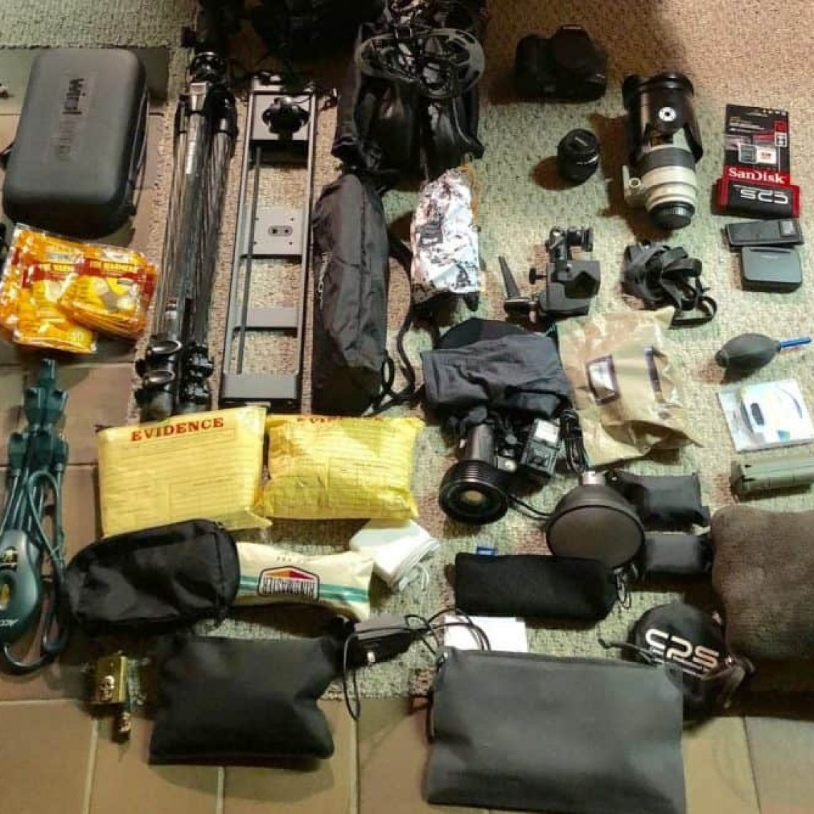 Stonetree Creative - Camera gear spread out on a floor