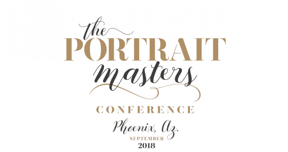 The Portrait Masters Conference Title Screen
